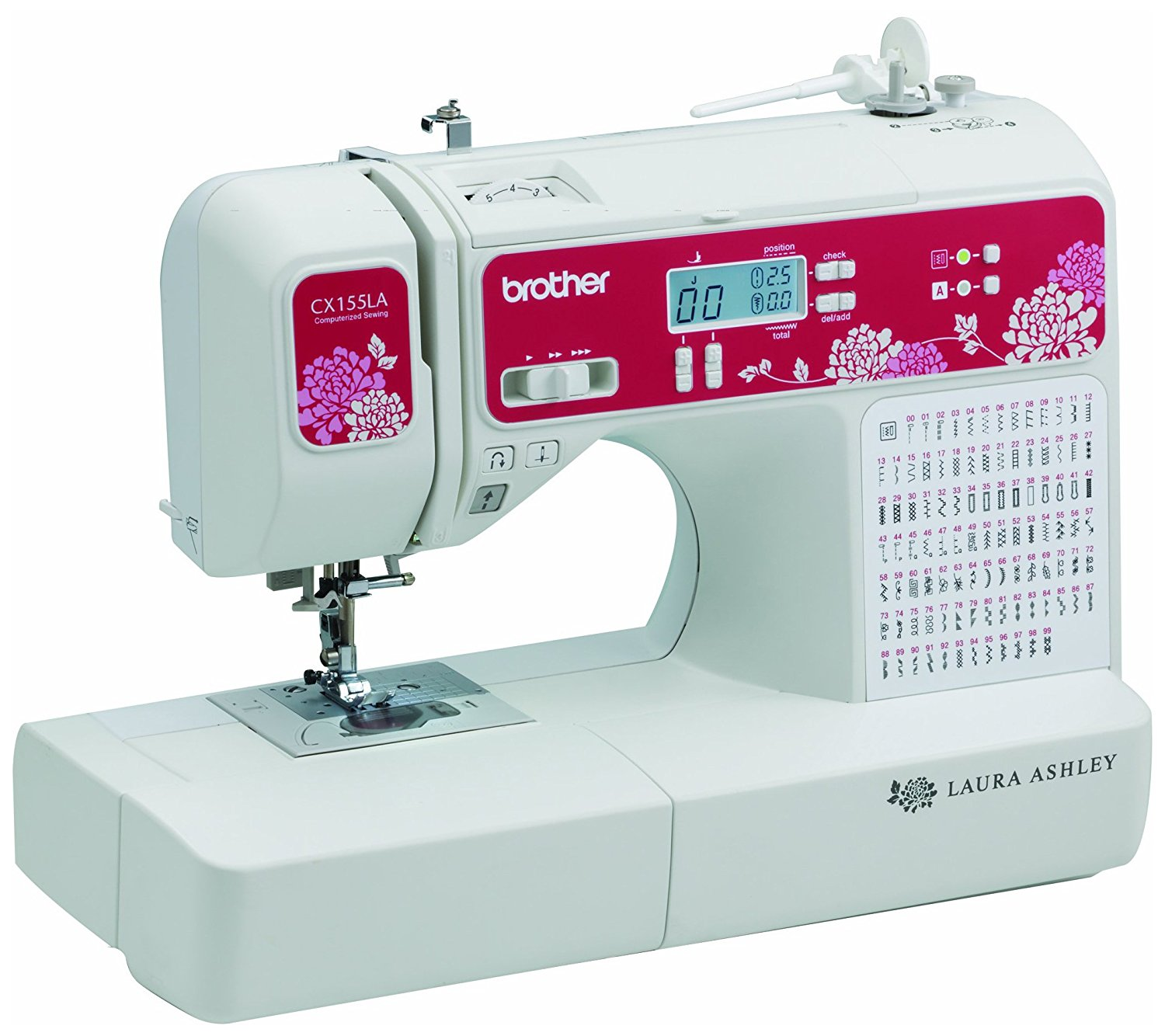 Brother Sewing Laura Ashley CX155LA