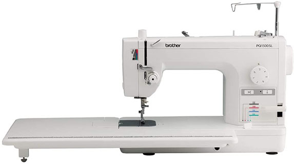 Sewing and Quilting Machine with 1500 stitches per minute from Brother