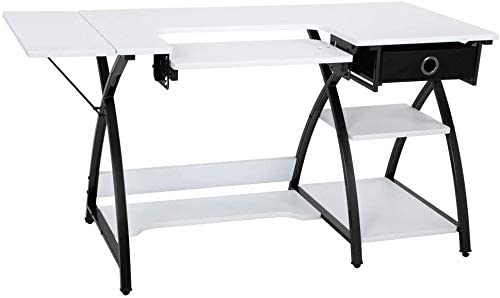 X frame Sturdy Multipurpose sewing table - best sewing table for home use