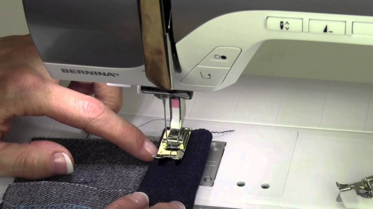 how to hem pants with sewing machine