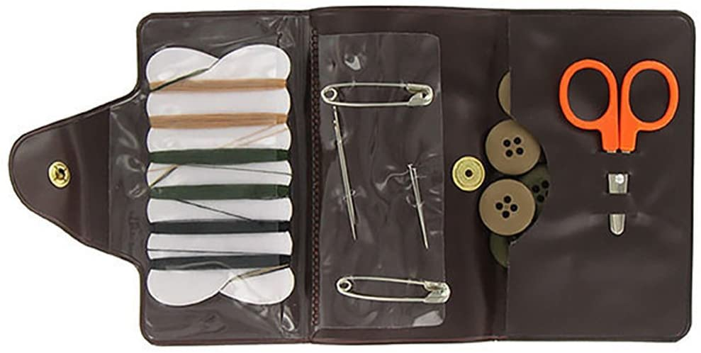 Military Sewing Kit Olive Drab and Desert By Vanguard Military
