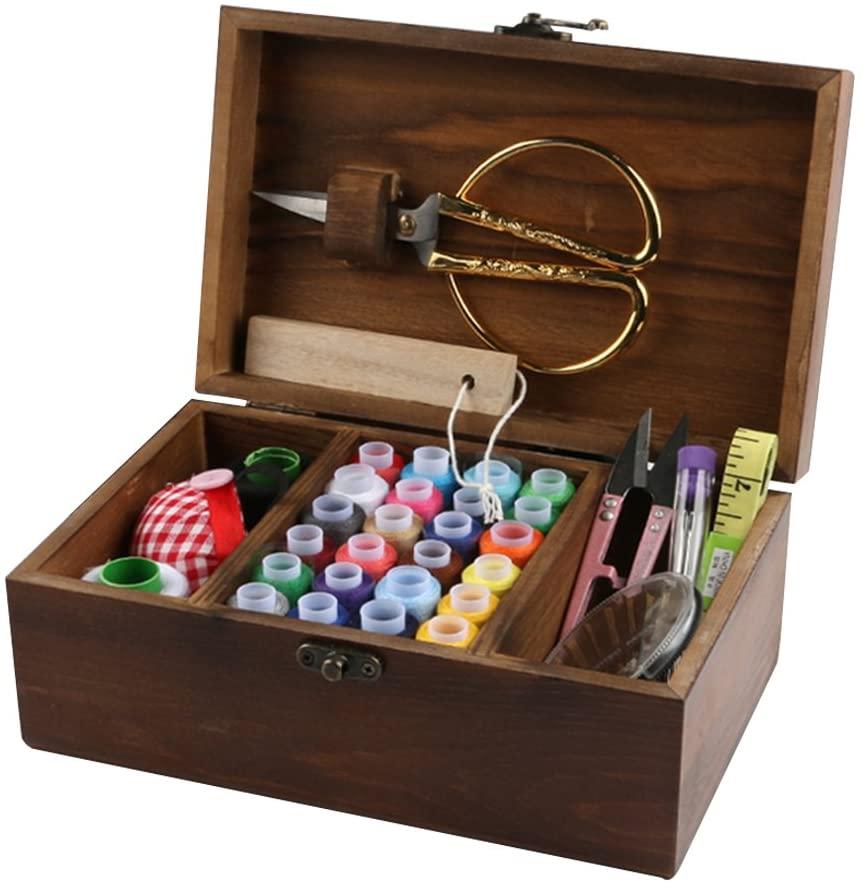 MissLytton Sewing Kit Box Basket