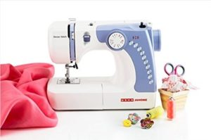 How to put the thread in the Usha sewing machine