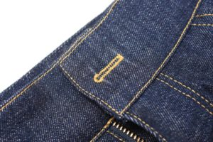 How To Sew A Button On Jeans