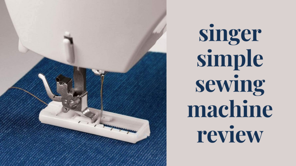 singer simple sewing machine review